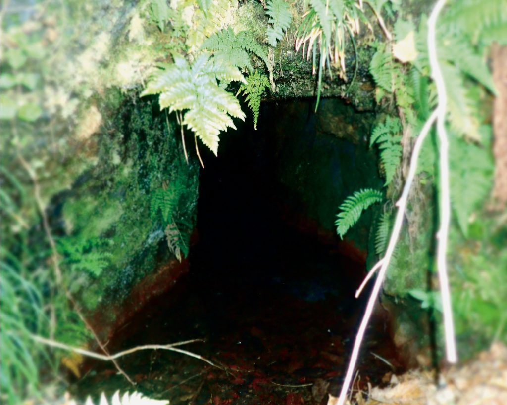 湯ノ沢鉱山跡