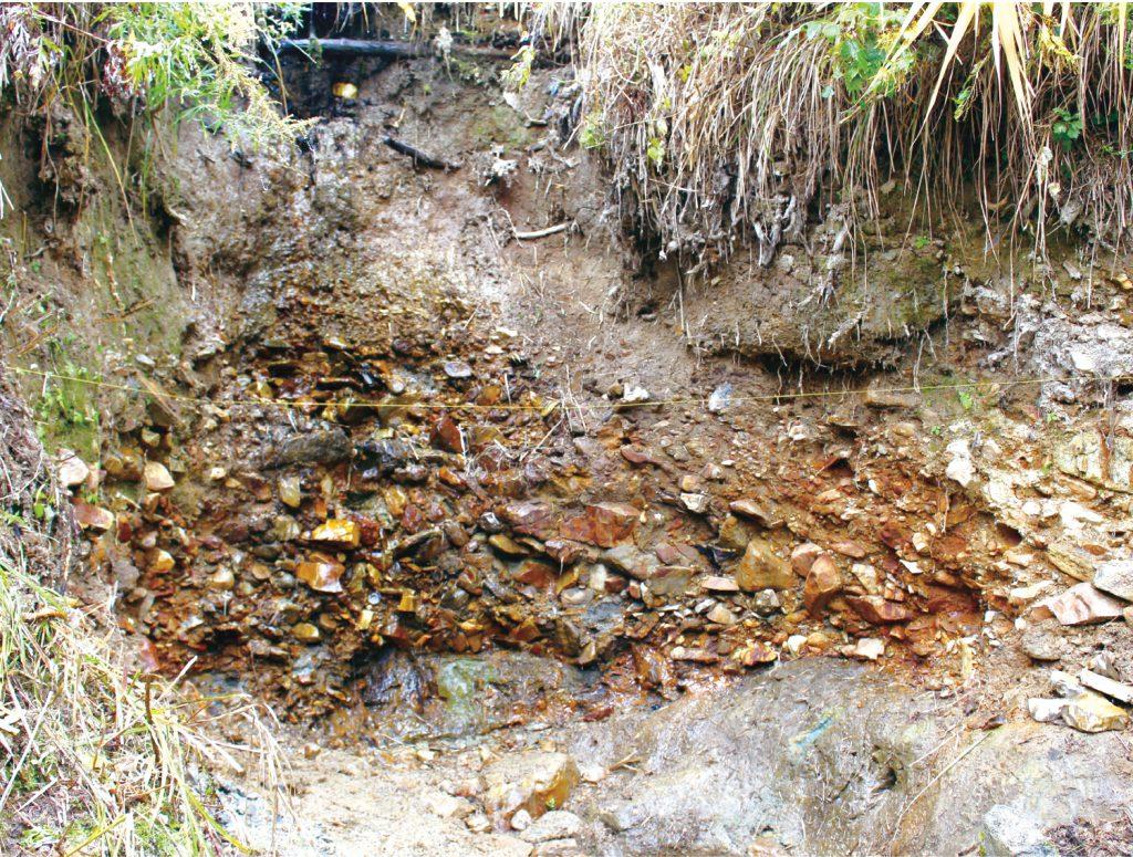 石器の谷 ヤルミ沢